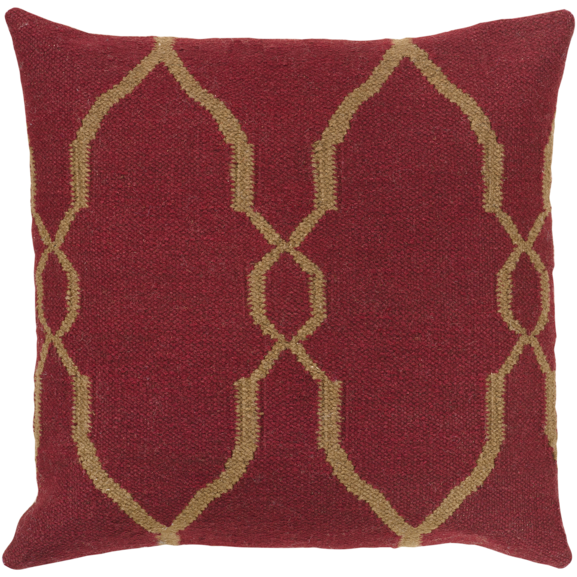 """Art of Knot Belebey 22"""" x 22"""" Pillow (with Down Fill)"""