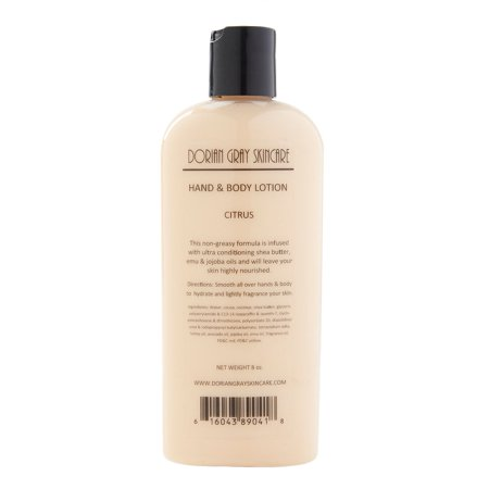 - Dorian Gray Bath and Body Soothing Citrus Mineral Hand and Body Lotion