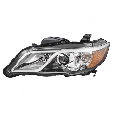 Drivers Halogen Combination Headlight Headlamp Lens Replacement for 13-15 Acura RDX 33150-TX4-A11