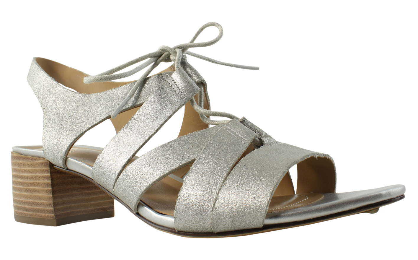 Naturalizer Womens Felicity Leather Open Toe Casual Slingback Sandals by Naturalizer