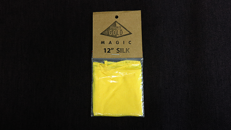"""Silk 12"""" (Yellow) by Pyramid Gold Magic by"""