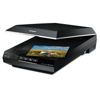 Epson Perfection V600 Photo Color Scanner, 6400 x 9600 dpi, Black