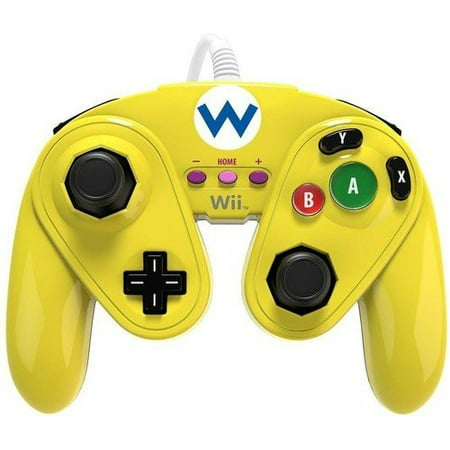 PDP Wired Fight Pad for Wii U - Wario - image 4 of 4