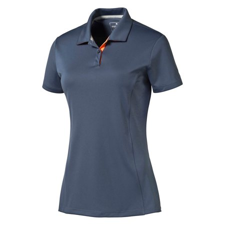 Polyester Golf - New Women's PUMA Pounce Golf Polo Cresting 100% Polyester - Pick Shirt