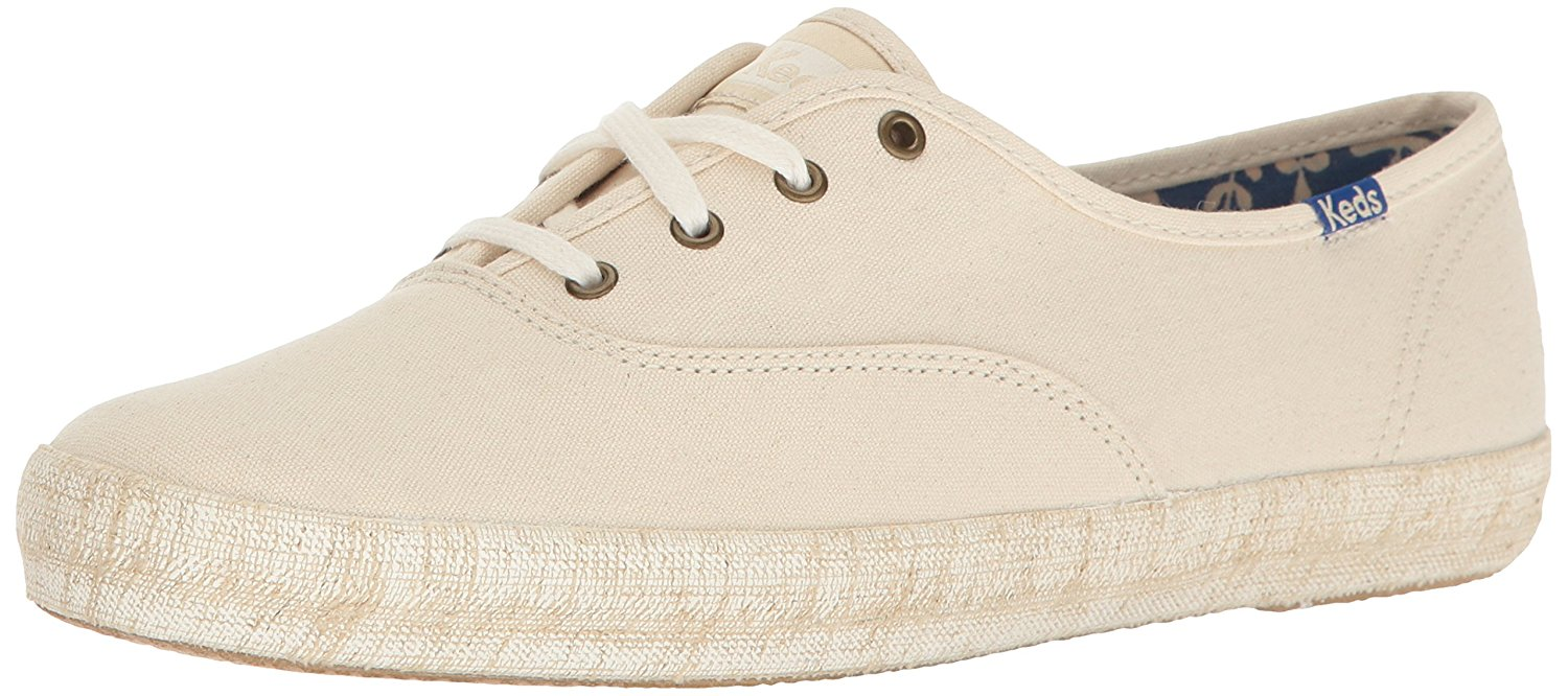 Keds Women's Champion Burlap Foxing Fashion Sneaker by Keds