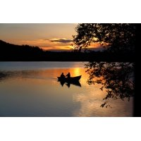 LAMINATED POSTER Landscape Fishing Norway The Nature of The Water Poster Print 11 x 17