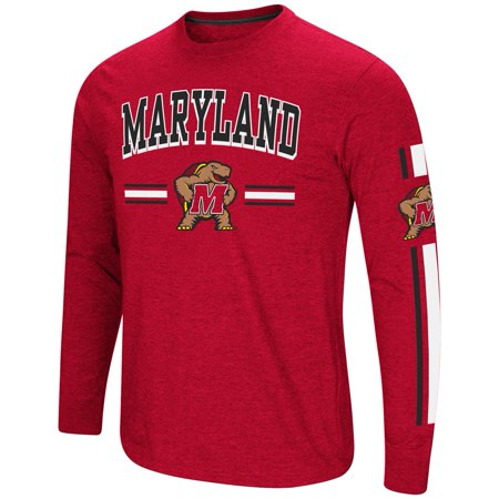 - University of Maryland Terps Men's Long Sleeve Touchdown Pass Tee