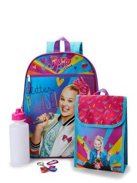 JoJo Siwa 5 Piece Backpack Set