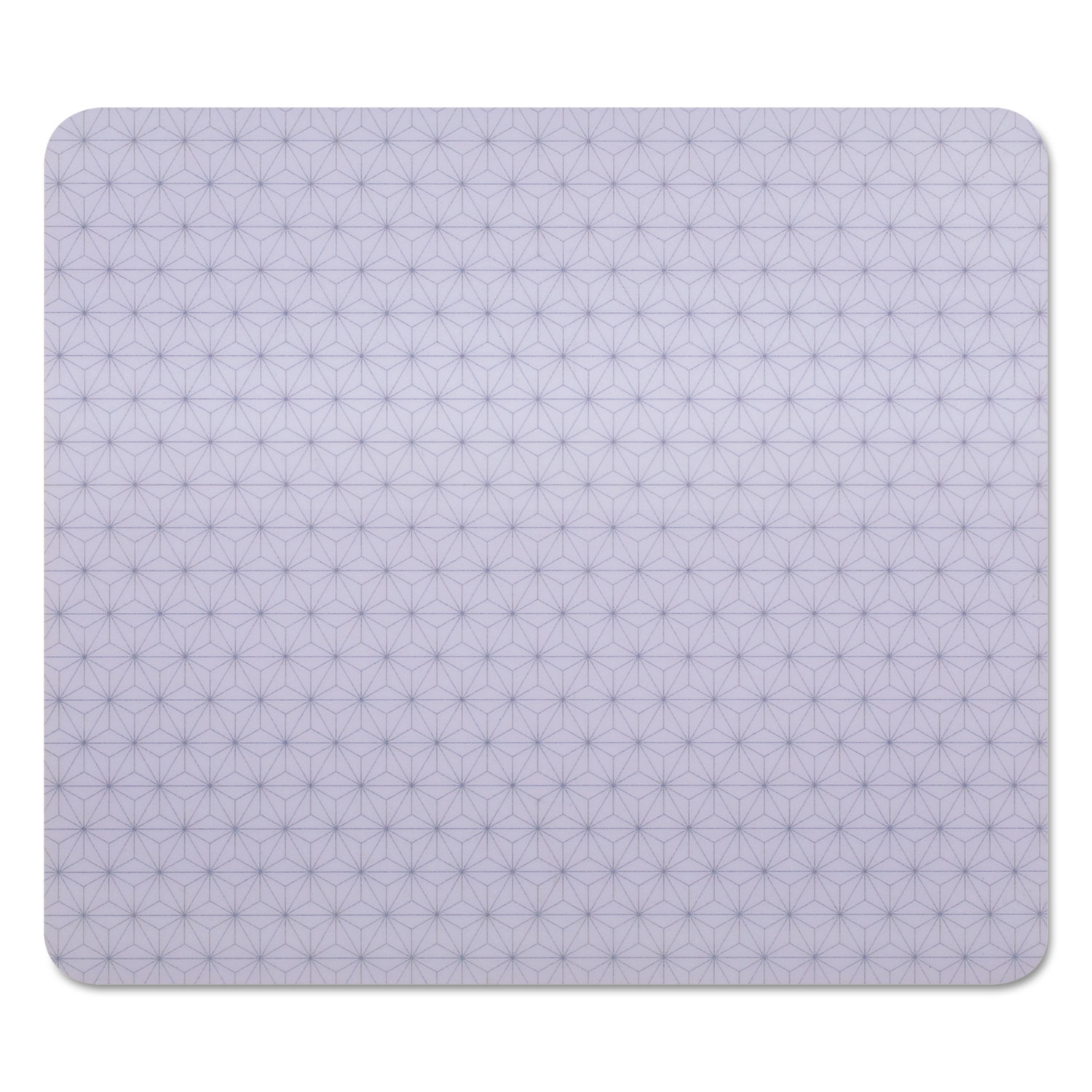 "3M Precise Mouse Pad, Nonskid Back, 9"" x 8, Gray/Frostbyte"