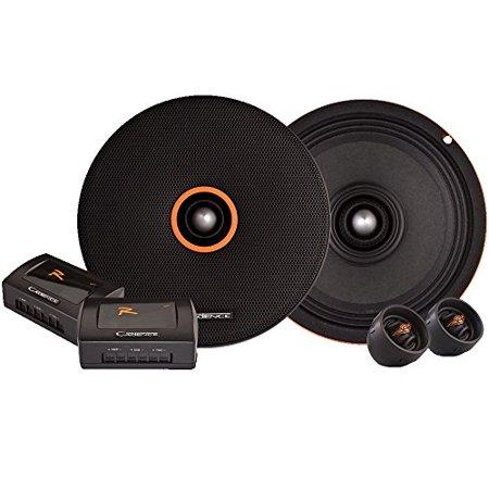 Cadence Zrs6km 6 5 Inch Two Way High Spl Midrange Component Speaker System