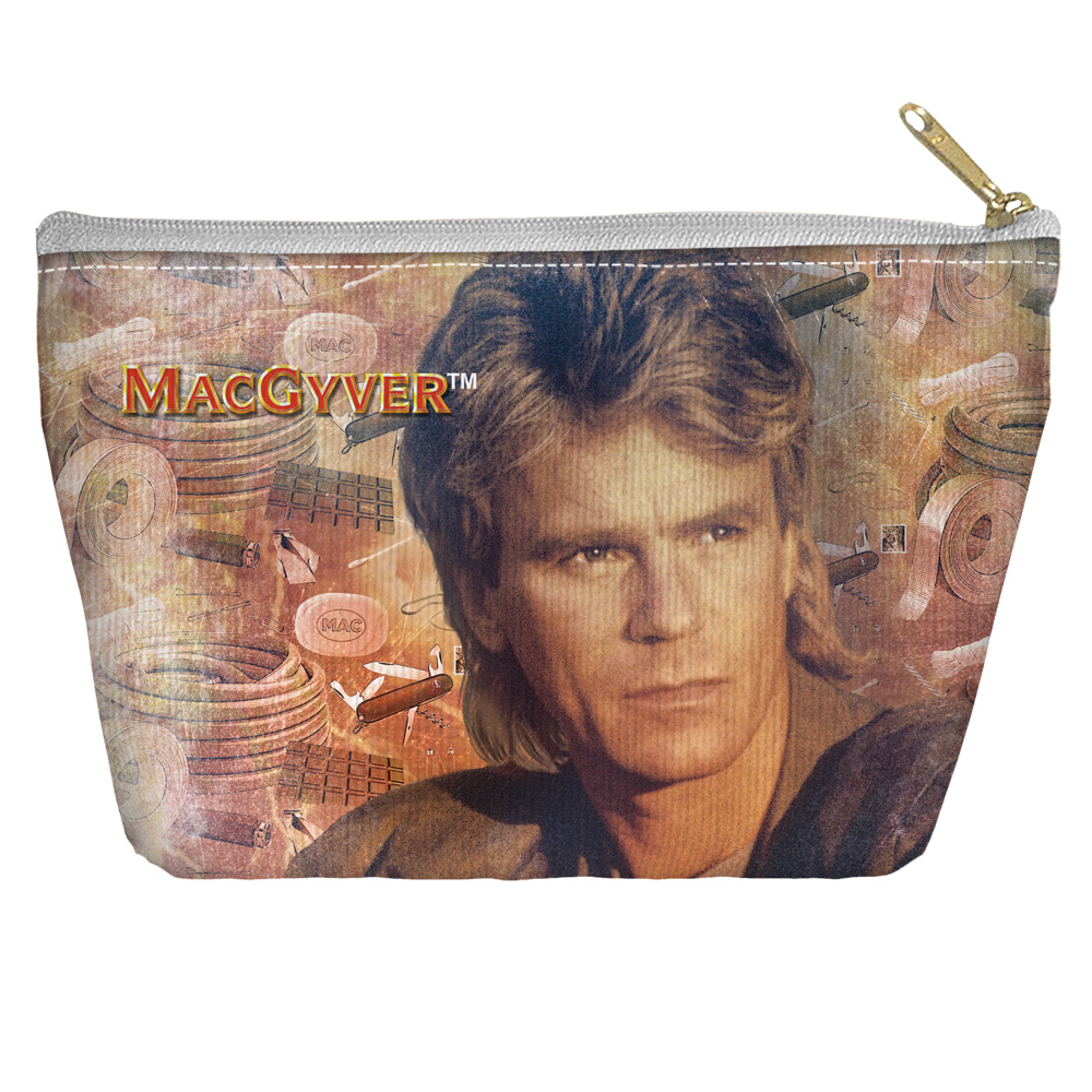 """Macgyver /""""Tools Of The Trade/"""" Double Sided Throw or Body Pillow"""