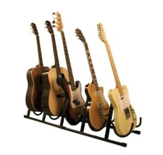 Guardian Multiple Guitar Stand for Five Guitar (SG-305) Multi-Colored