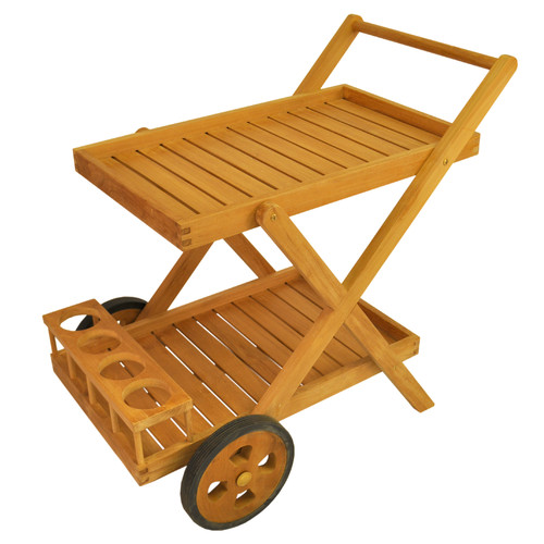 Anderson Teak Cobana Serving Cart by Anderson Collection