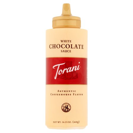 Torani White Chocolate Sauce, 16.5 Oz.