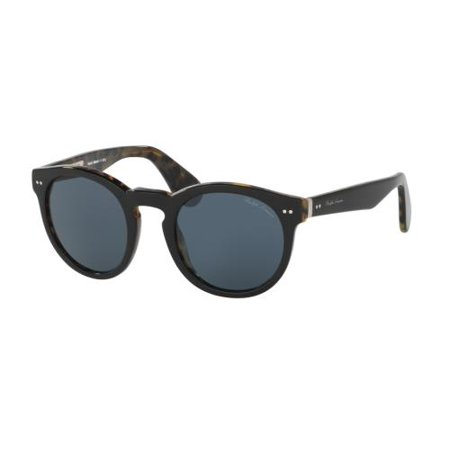RALPH LAUREN Sunglasses RL8146P 5613R5 Black On Spotty Havana 49MM ()