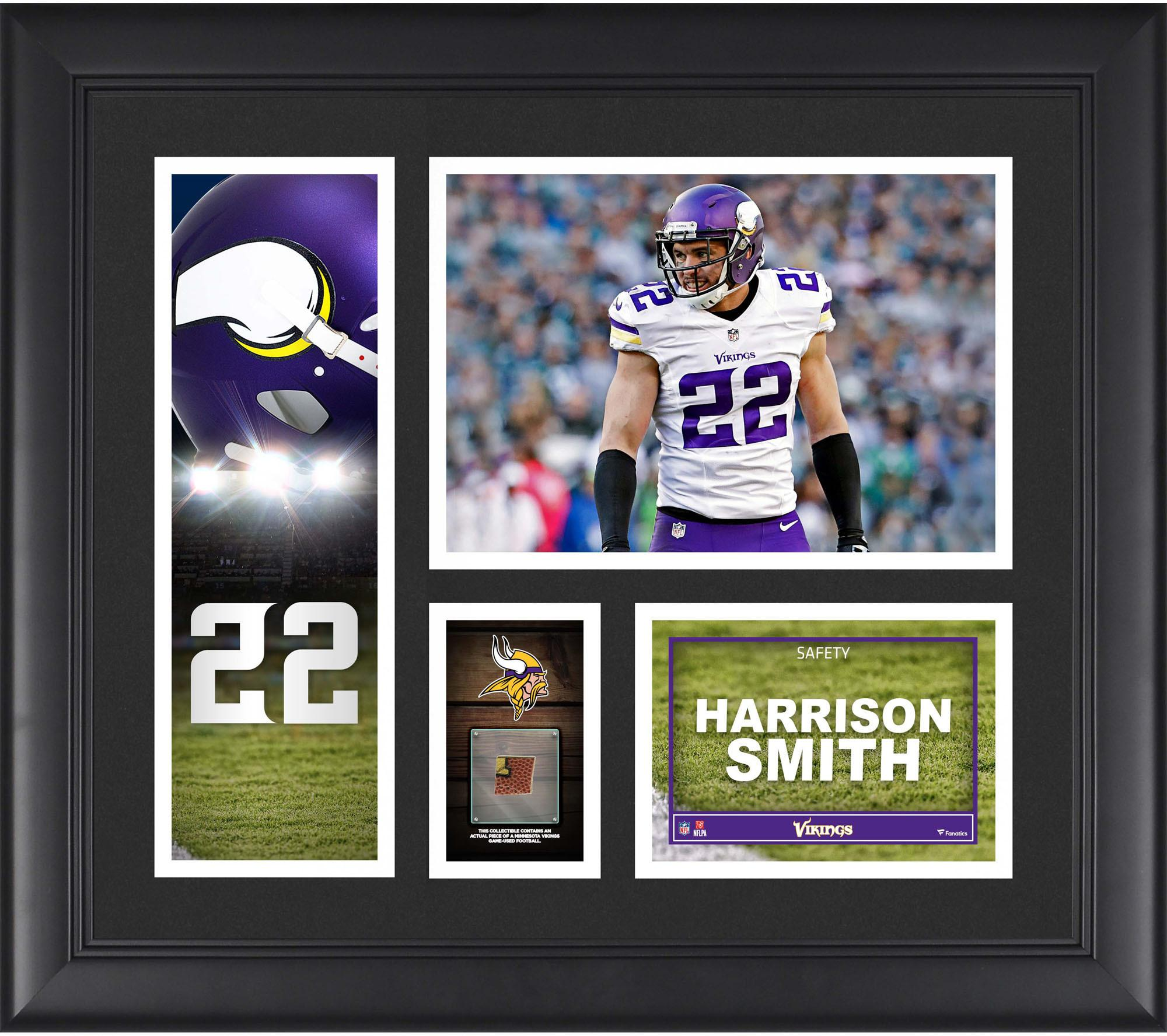 Harrison Smith Minnesota Vikings Framed 15