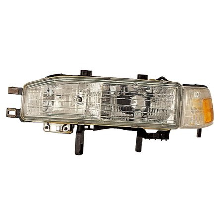1990-1991 Honda Accord Driver Left Side Combination Headlight Lamp Assembly