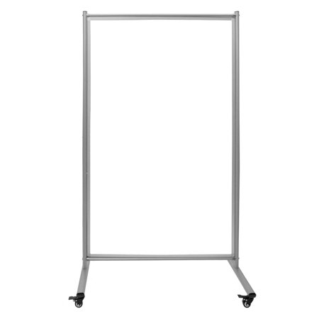 - Luxor Magnetic Rolling Whiteboard Room Divider, 39