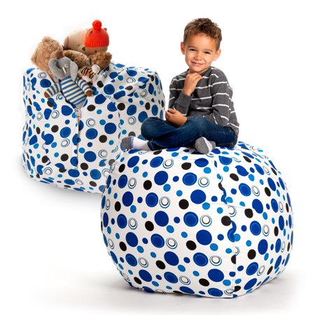 Pleasant Creative Qt Stuffed Animal Storage Bean Bag Chair Extra Squirreltailoven Fun Painted Chair Ideas Images Squirreltailovenorg