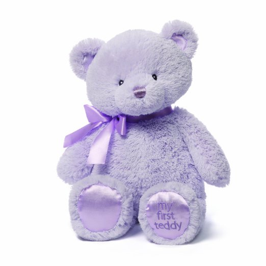 Gund My First Teddy Bear Baby Stuffed Animal, 15 inches by Gund Baby
