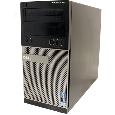 Refurbished Dell 990 Twr Desktop Pc With Intel Core I3 2100 Processor  8Gb Memory  2Tb Hard Drive And Windows 10 Home  Monitor Not Included