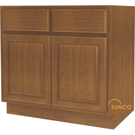 Sunco inc x 36 39 39 kitchen base cabinet for Kitchen cabinets 36 x 18