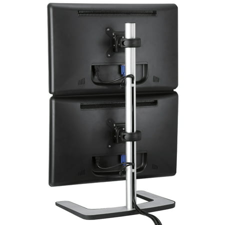 Visidec By Atdec Vfs-dv Freestanding Dual Vertical Monitor -