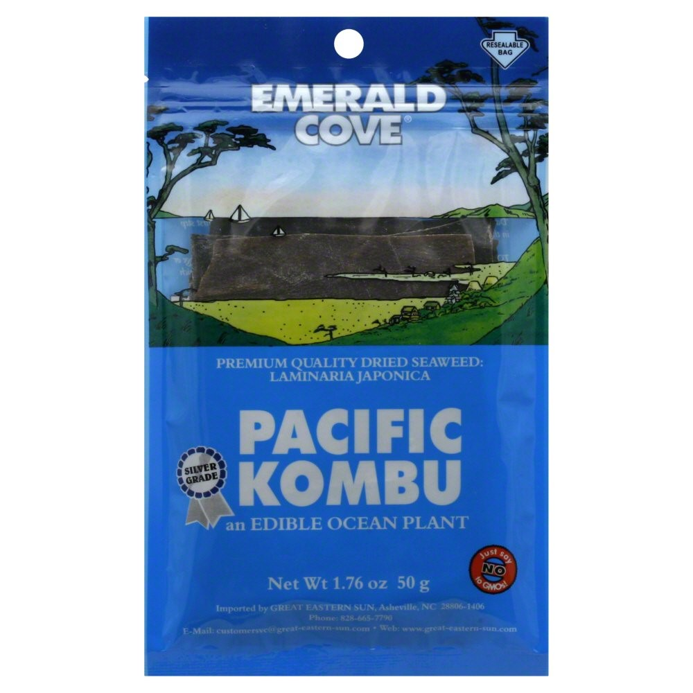 Great Eastern Sun Emerald Cove  Pacifica Kombu, 1.76 oz