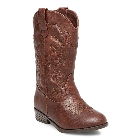 2338da82332 Toddler Girls' Natalia Authentic Cowboy Western Boots Cat & Jack - Brown  Little Kid 12