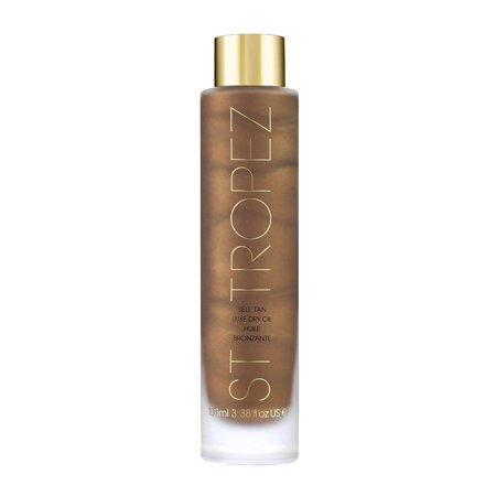 St. Tropez Self Tanner Luxe Dry Oil Tanner, 3.4 (St Moriz Dry Oil Self Tanning Mist Review)