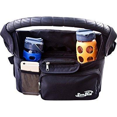 summer sale ! stroller organizer holder, best baby shower gift stroller accessory for bottles, keys, diapers,... by zenkid