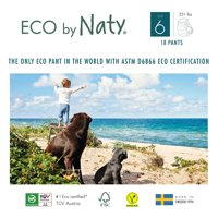 Eco by Naty Pull on Pants, Size 6, 18 Pants