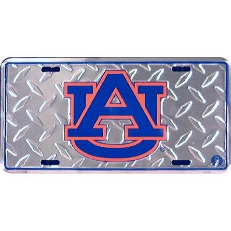 Auburn Univ Diamond Embossed License Plate