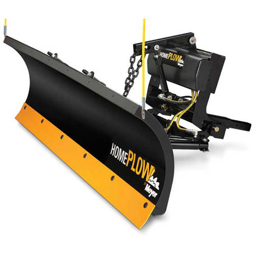 "7'6"" Length/22"" Height Full Hydraulic Power Home Plow"
