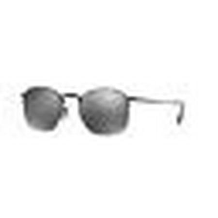 Oliver Peoples Rickman OV 1209S 5062/6G Matte Black / Black Mirrored (Oliver Peoples Black Sunglasses)