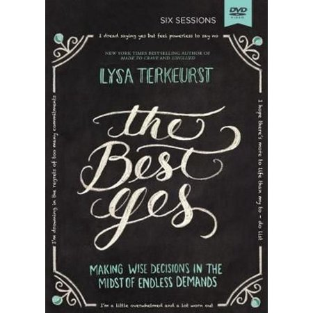 The Best Yes Video Study (Other) (The Best Yes Lysa Terkeurst)