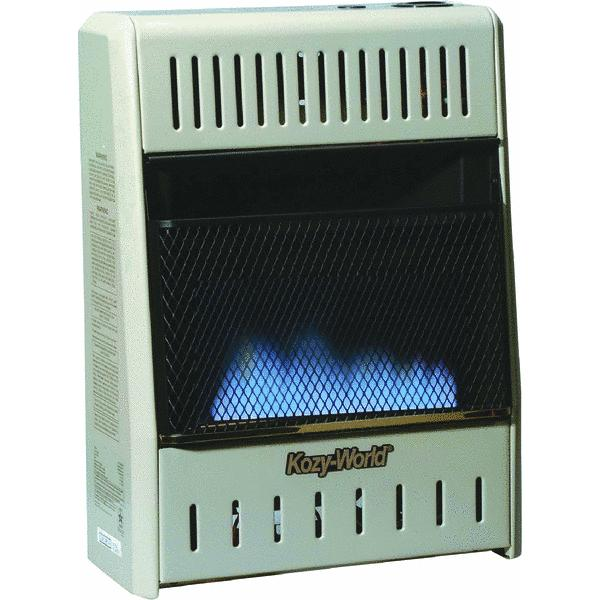 ProCom Dual Fuel Vent-Free Blue Flame Wall Heater