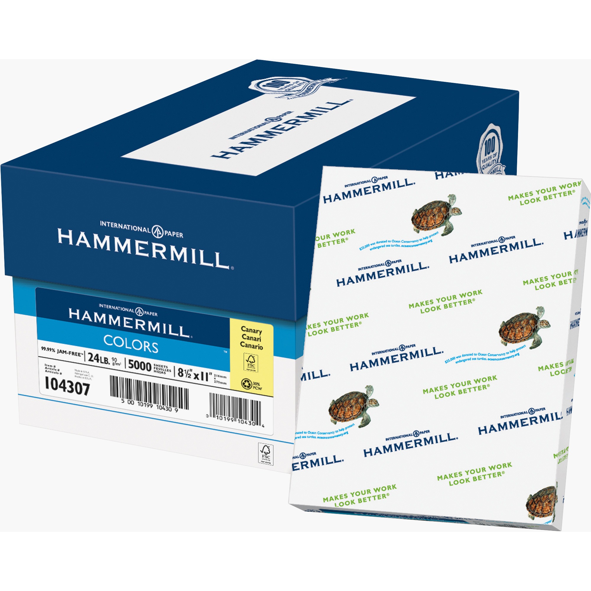 Hammermill Colors Laser, Inkjet Print Colored Paper