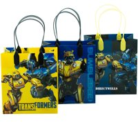 Transformers 12 Party Favor Reusable Goodie Small Gift Bags 6""