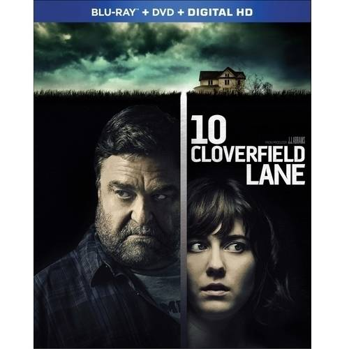 10 Cloverfield Lane (Blu-ray + DVD + Digital HD) (Walmart Exclusive) (With INSTAWATCH) (Widescreen) by
