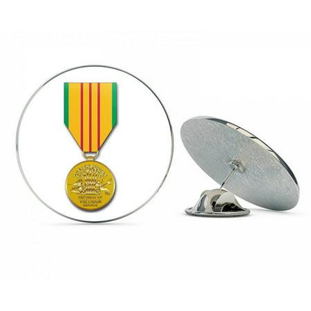 US Army Vietnam Service Medal Metal 0.75