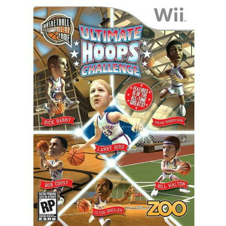hall of fame ultimate hoops challenge - nintendo