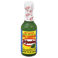(3 Pack) El Yucateco Salsa Picante De Chile Habanero Hot Sauce, 4 fl oz