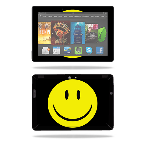 "Mightyskins Protective Skin Decal Cover for Amazon Kindle Fire HDX 8.9"" Tablet (2013 & 2014 models) wrap sticker skins Smiley Face"