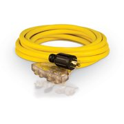 Champion 48036 25-Foot 30-Amp 125/250-Volt Fan-Style Generator Extension Cord (L14-30P to four 5-20R)