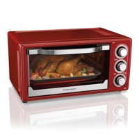 Hamilton Beach 6 Slice Toaster Convection/Broiler Oven | Red Model# 31514