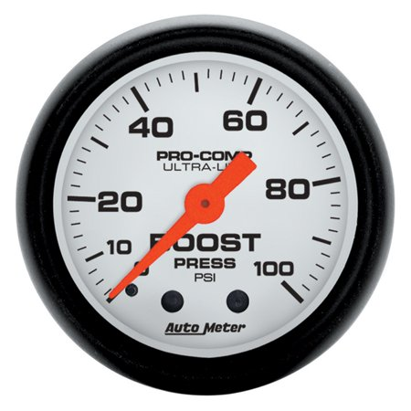 AutoMeter 5706 Phantom Mechanical Boost Gauge