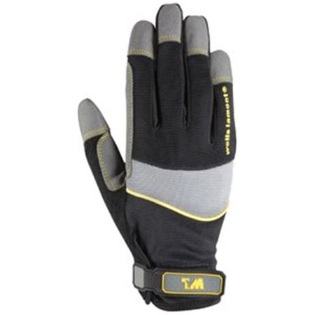 Part 7670Rm Synthc Lthr Glove Mediumrd Bk, by Wells Lamont, Single Item, Great (Lthr Tool)
