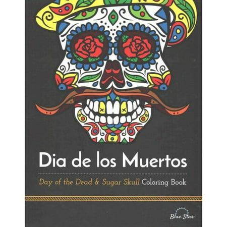 dia de los muertos day of the dead sugar skull coloring book - Sugar Skull Coloring Book