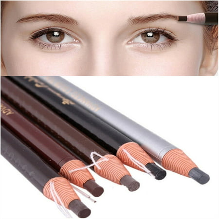 5pcs Waterproof Stereotypes Microblading Eyebrow Peel-off Pencil for Permanent Eyebrow Pencil Makeup Cosmetics Tools